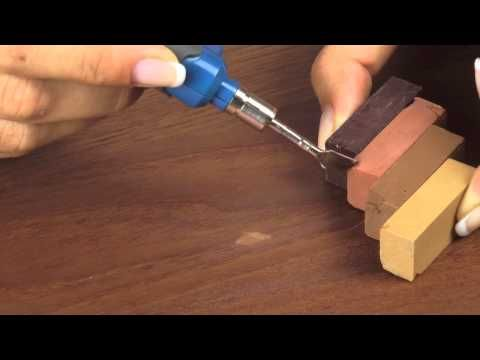 Reparaturset für Laminat und Parkett - YouTube