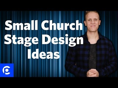 3 small church stage design ideas pro church tools - Church Stage Design Ideas For Cheap