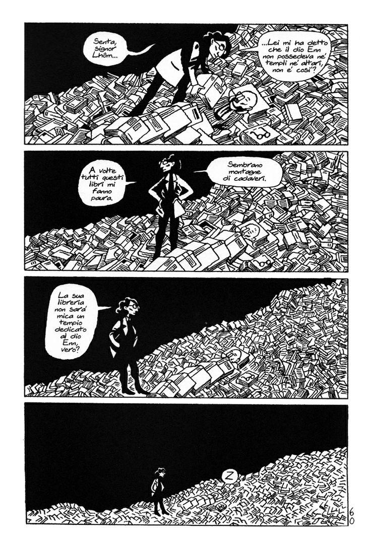 David B. - Les incidents de la nuit (Coconino Press)