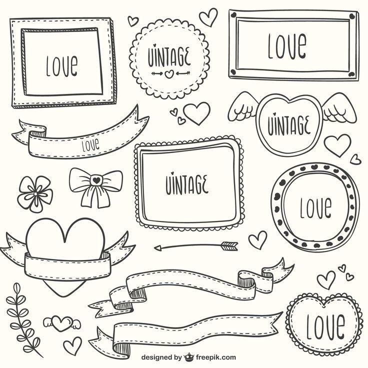 """FRAMED """"LOVE"""" WORDS"""
