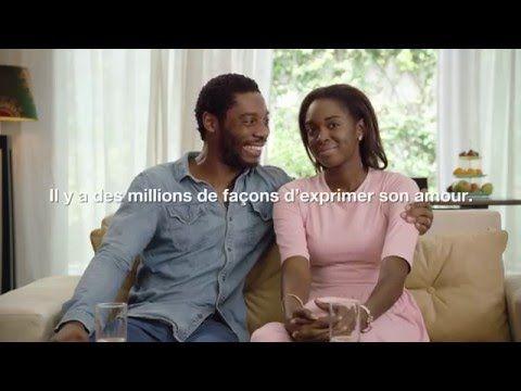 ORANGE AFRIQUE - Lovenames FR (Mon amour, mon cœur, mon petit lapin) - YouTube