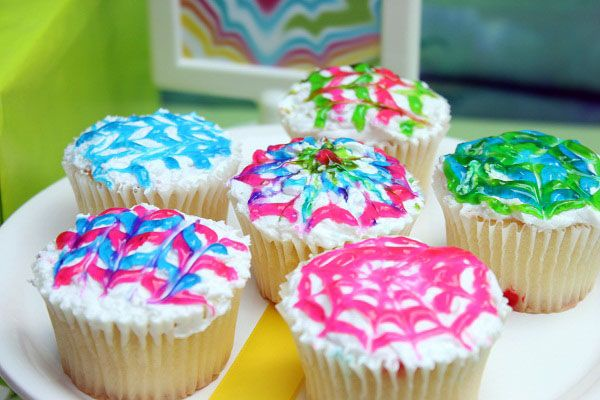 Colorful, sweet and fun this Tie Dye Theme Party is perfect for your kids birthday party.