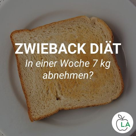 Mit der Zwieback Diät soll man extrem schnell abnehmen. Doch wie sieht der Esse…