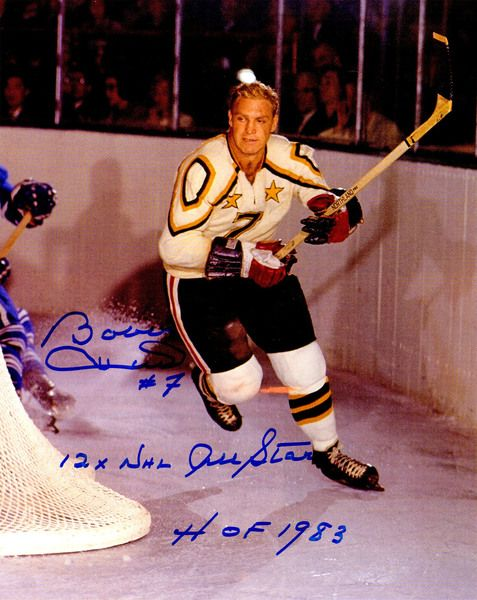 Bobby Hull Signed All Star Game Action 11x14 Photo w/12x NHL All Star, HOF 1983