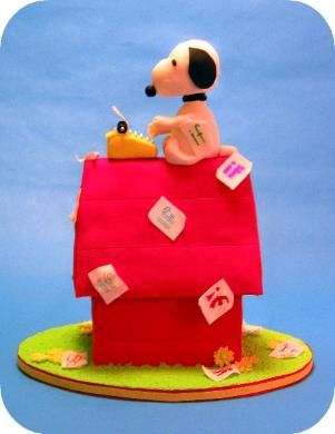 132 best Snoopy Cakes and Cookies images on Pinterest Snoopy cake