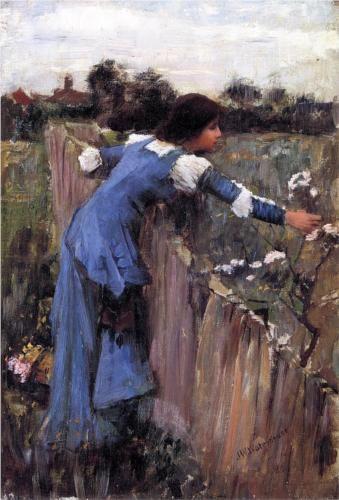 The Flower Picker - John William Waterhouse