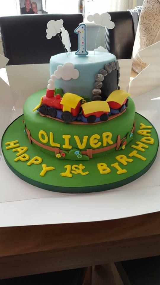 38 best 1st Birthday Cake Ideas images on Pinterest 1st birthday