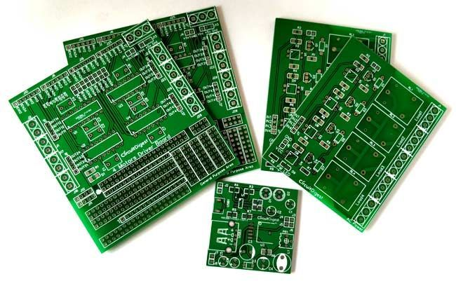 Basics Of Pcb Gadgetsgatgets Security Cameras For Home Cool Electronics Pcb Board