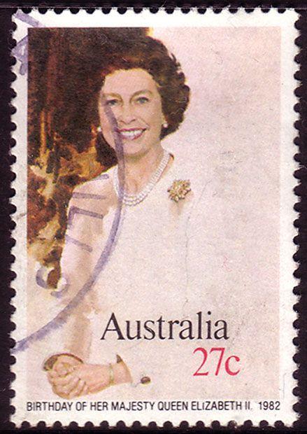 Australia Day 1982 Queens Birthday Fine Used SG 842 Scott 825 Other Australian Stamps HERE