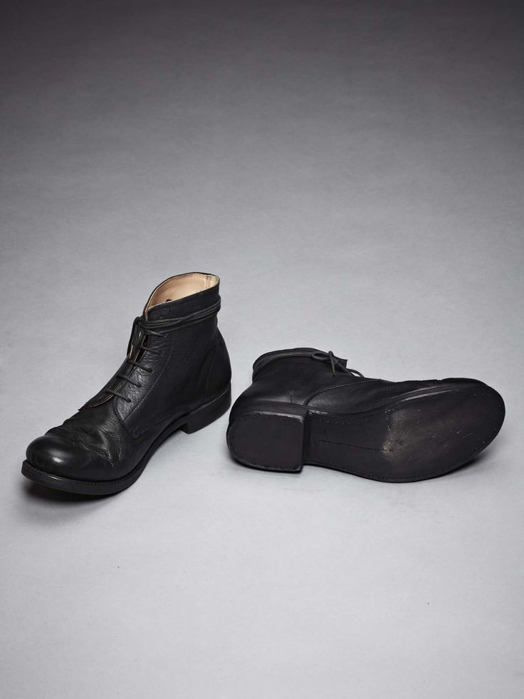 Adiciannoveventitre - bull leather ankle boot
