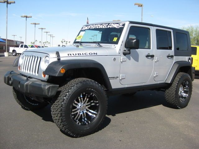 Lifted Jeep Rubicon for Sale | 2009 JEEP WRANGLER RUBICON UNLIMITED 1 OWNER 4X4-LIFTED - 2021 E. Bell ...