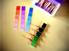 * Atelier Montessori: les nuanciers de couleurs - ★Meroute en clis★