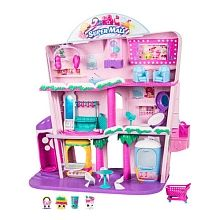 Shopkins Shoppies Ensemble de jeu Super Centre Commercial de Shopville