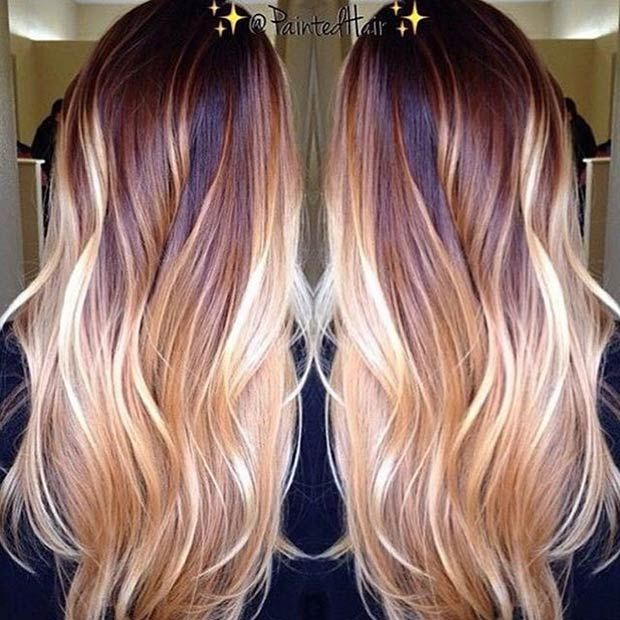 Long Hairstyles And Color Extraordinary 202 Best Long Hair Images On Pinterest  Hairstyle Ideas Artistic