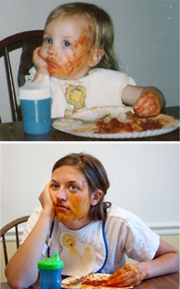 24 People Who Hilariously Recreated Their Childhood Photos