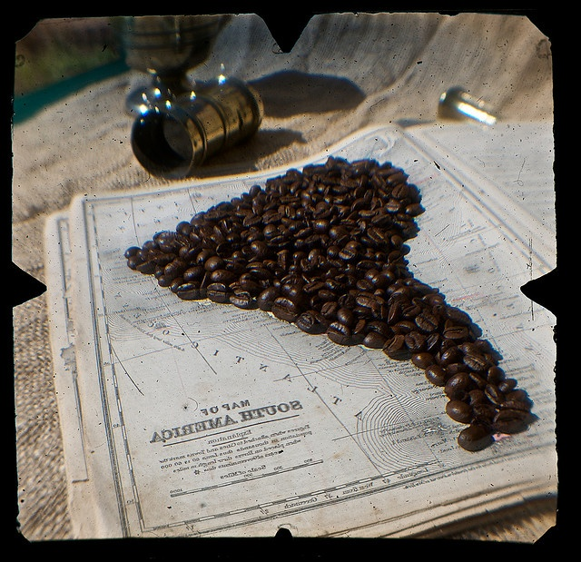 South America - coffee continent