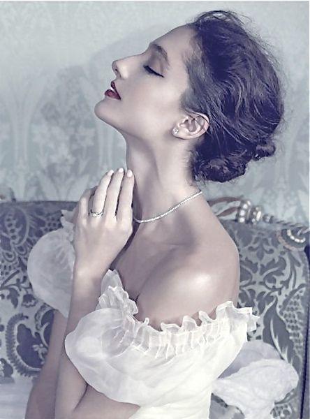 Dorothee Gilbert, danseuse etoile/Opera de Paris.