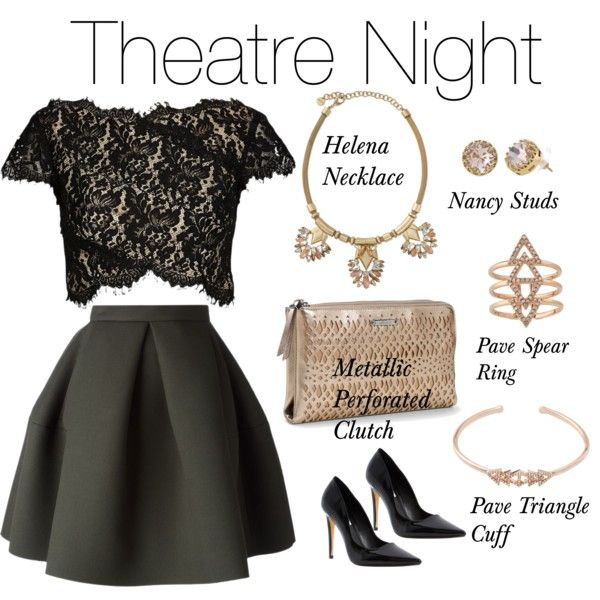 """Theatre Night"" by sdstylistemmam on Polyvore Stelladot.com/sites/kkenagy"