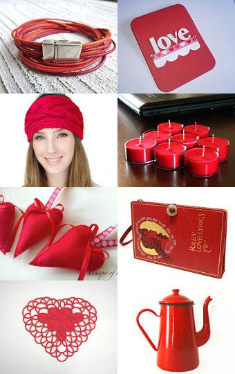 Red by Christiane Schnabel on Etsy--Pinned with TreasuryPin.com