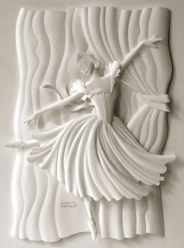 Скульптурные открытки, анимированные открытки днем
