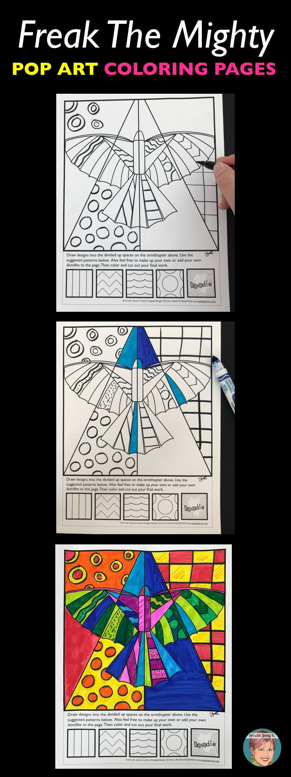7192 best a printables tutorals techniques and ideas for Freak the mighty coloring pages