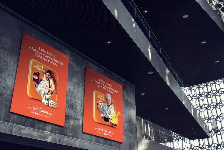 """Uma vez que o Natal é uma época extremamente  importante em termos comerciais, o objetivo com  esta campanha era o de catapultar a Odisseias  para o Top of Mind dos atuais e potenciais  clientes, fazendo passar ao mesmo tempo as  vantagens competitivas do produto """"experiência"""" (personalização\centenas de opções dentro de  dado universo) e aumentar a notoriedade da  marca. Na campanha desenvolvida colocámos  a sílaba tónica inteiramente no produto, nos seus  benefícios e nas suas vantagens…"""