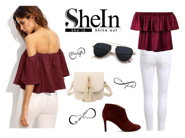 SheIn by monique-joanne on Polyvore featuring polyvore, fashion, style, Sole Society, WithChic, Tattify and clothing