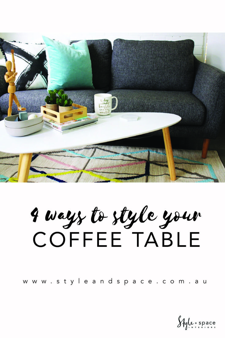 As much as we love coffee, there is more to that piece of furniture in the middle of your lounge! Play with these four coffee table styles at home.