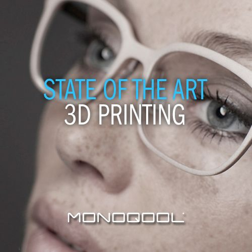 Only the best, innovative product for our customers!   #3Dprinted #innovation #glasses #Monoqool