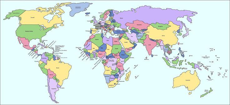mapamundi politico - Buscar con Google