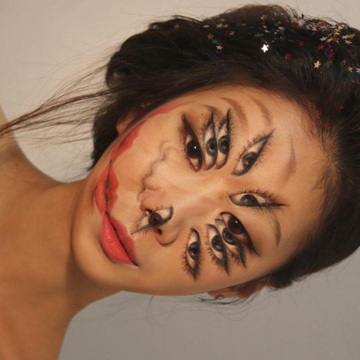 Cette artiste maquilleuse vous trompe l'œil avec les yeux | The Creators Project