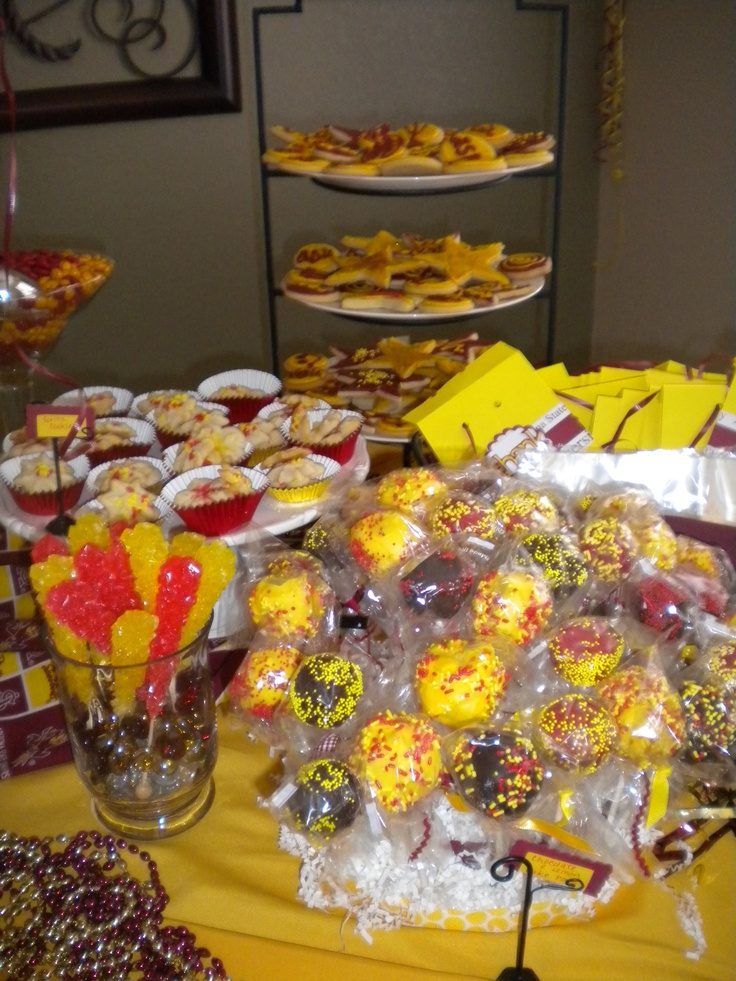 Arizona State University Themed Sugar Cookies Spritz