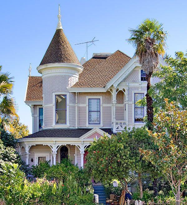 15 best images about california queen anne mansions on Queen anne house