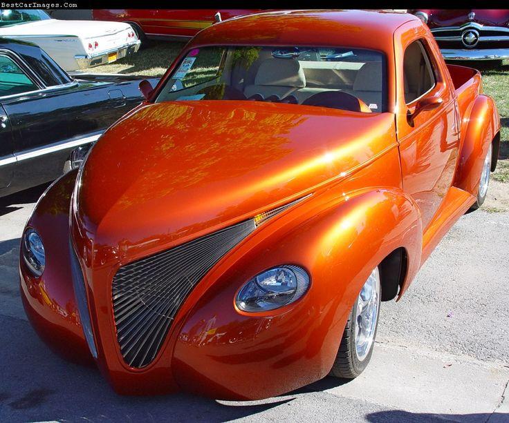 Burned Orange Auto Paint Color Chart