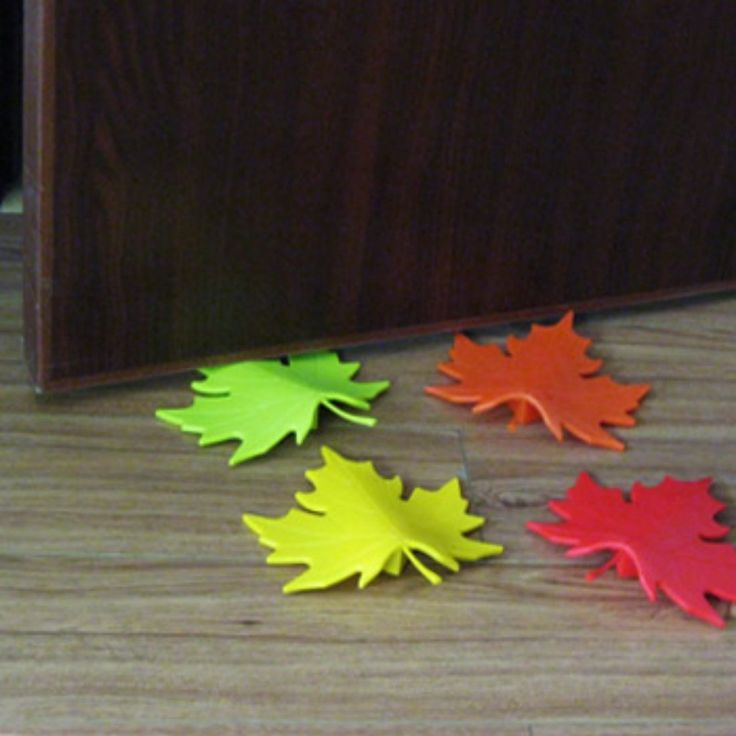 Leaf door stops $40 set of four (or really just a door stop at all)