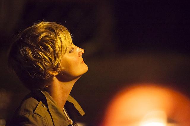 Vacker bild på en av arrangörerna, Kristin! #sswc