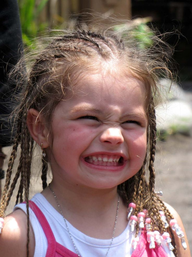 sincere smile from a little cute girl, guest at the park. Kampung Gajah, Bali Safari & Marine Park - one day in 2010