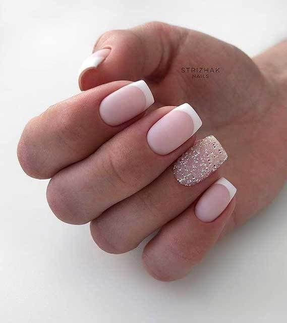 Best Nail Art Designs To Try This Spring Summer 2020 Mismatched Nail Art Designs Nailart Naildesigns Short Nail Art In 2020 Gel Nails French Bride Nails Gel Nails