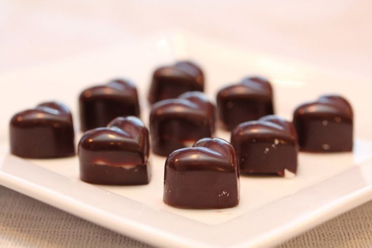 * Anettes sjokoladekonfekt med peppermynte *