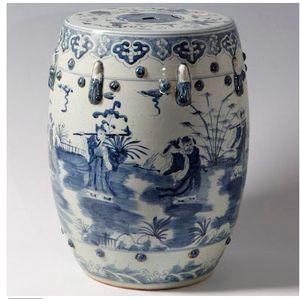 Blue and White Garden Stool & 24 best Garden Stools images on Pinterest | Ceramic garden stools ... islam-shia.org