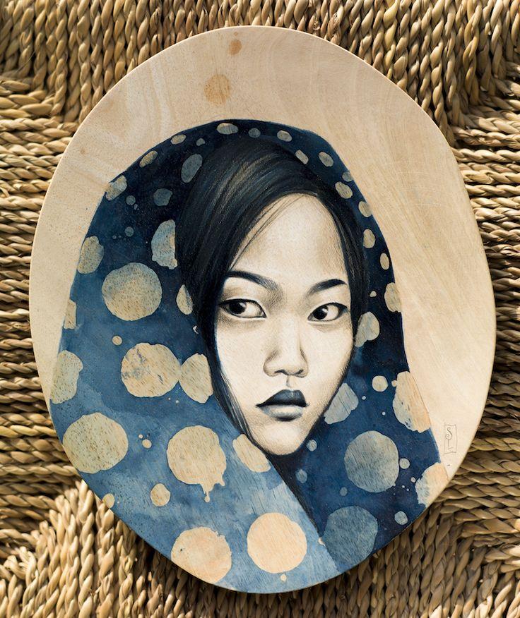 Stéphanie Ledoux - Carnets de voyage: Bois de manguier