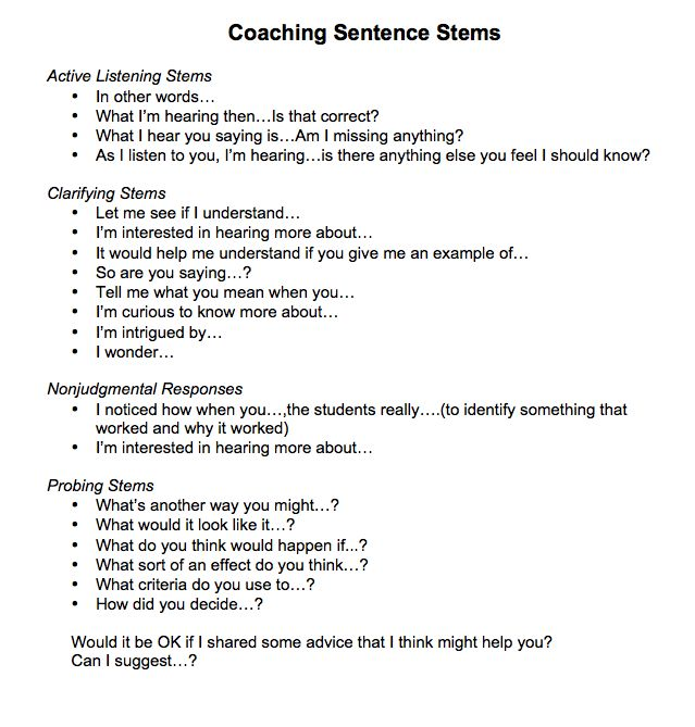 Coach Feedback Form Instructional Coaching Tools Best Coaching
