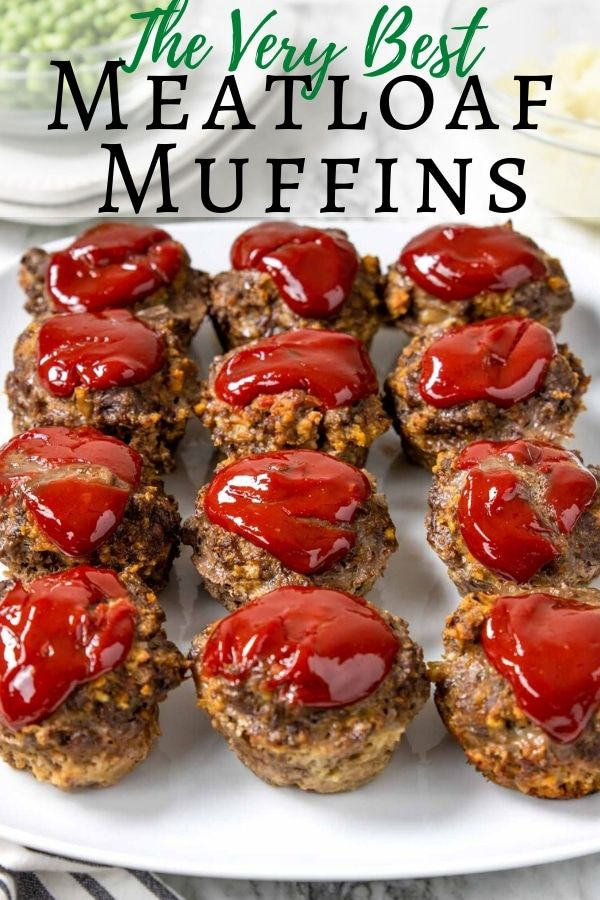 Delicious And Easy Meatloaf Muffins Mom S Dinner Recipe Recipes Meat Recipes Best Meatloaf