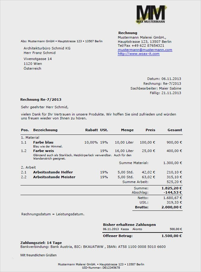 Rechnung Bereits Bezahlt Vorlage 31 Hubsch Anspruchsvoll Ebendiese Konnen Einstellen Fur Ihre In 2020 Vorlagen Rechnung Muster Rechnung
