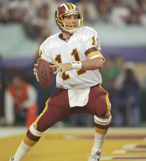Mark Rypien had his greatest season in 1991 leading Washington to a 17-2 record and Super Bowl Champions.