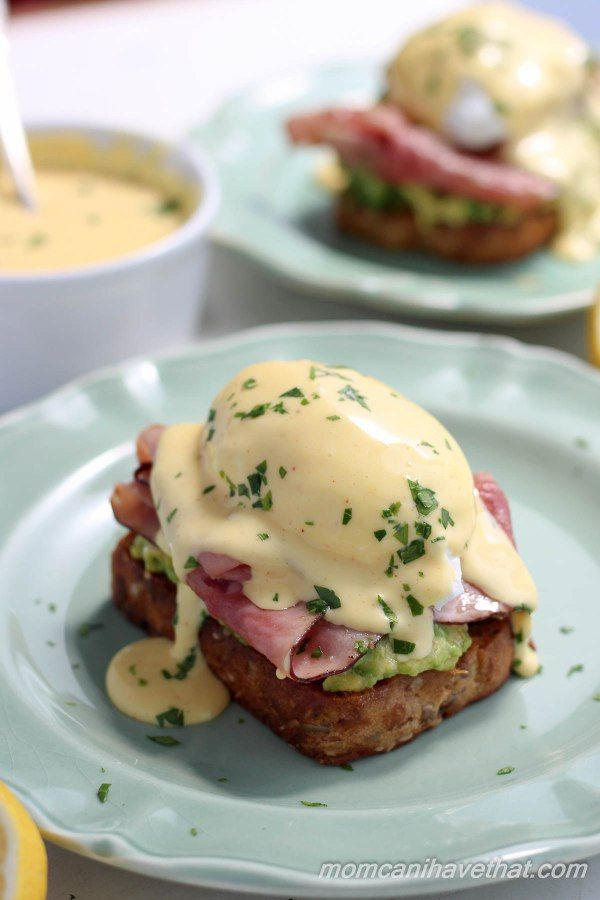 Poached Egg on Avocado Toast with Blender Hollandaise