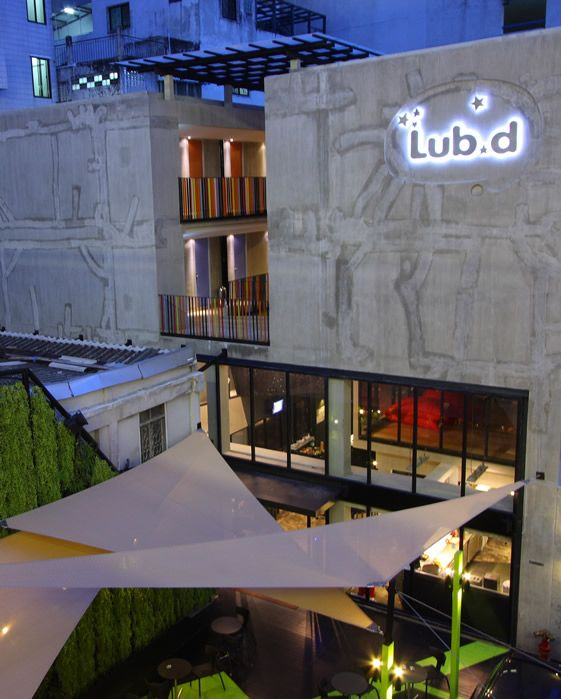 lub d hostel, bangkok