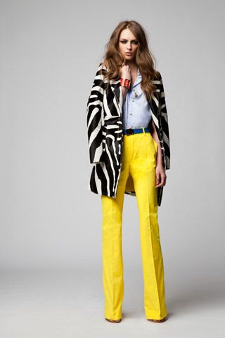 colour inspirationsDsquared2 Yellow, 2012 Collection, Yellow Pants, Spring Summer, Colors Combinations, Animal Prints, Resorts 2012, Dsquared2 Resorts, Yellow Trousers