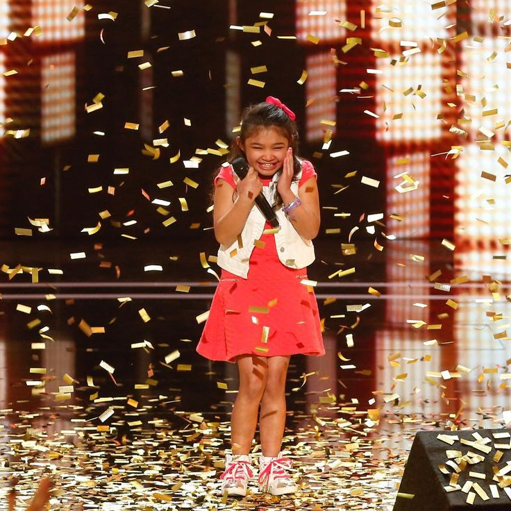 "'America's Got Talent' judges and guest Chris Hardwick advance seven acts to live shows Angelica Hale lands Golden Buzzer America's Got Talent judges Heidi Klum Melanie ""Mel B"" Brown Howie Mandel and Simon Cowell advanced seven of 20 acts to Season 12's live shows during Tuesday night's NBC broadcast. #AGT"