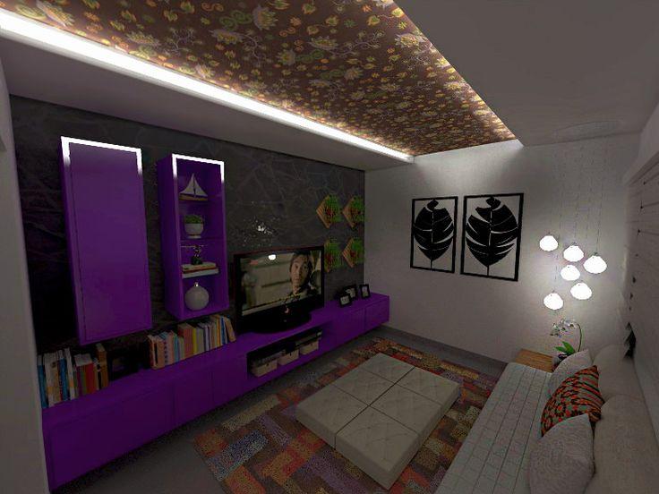 As 25 melhores ideias de sala r stica moderna no pinterest for Sala rustica moderna